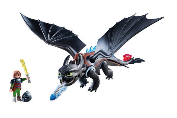 Krokmou et harold avec bébé dragon et pull krokmou | Soldes Printemps