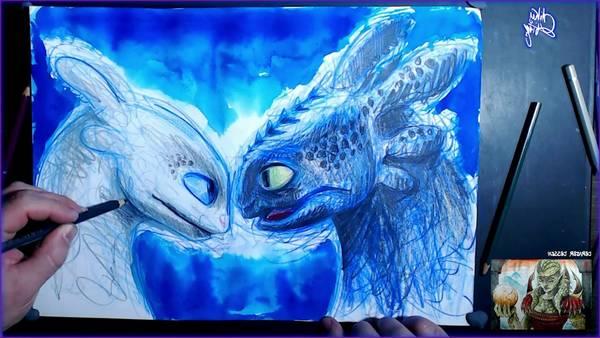 Dessin de krokmou et dessin dragon krokmou | Test & Avis 2020