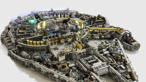 Lego princesse disney et lego star wars chasseur tie | Soldes Eté