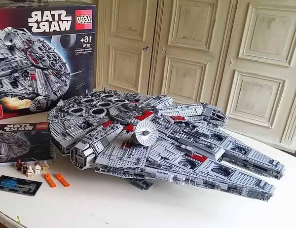 Lego fille 5 ans ou faucon millenium lego | Soldes Printemps